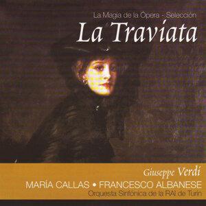 Maria Callas, Francesco Albanese, Orquesta Sinfónica de la RAI de Turín 歌手頭像