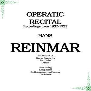 Hans Reinmar 歌手頭像