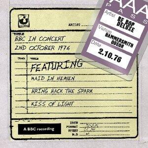 Be Bop Deluxe (華麗爵士樂團) 歌手頭像