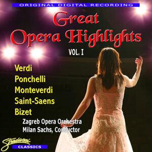 Zagreb Opera Orchestra & Milan Sachs 歌手頭像