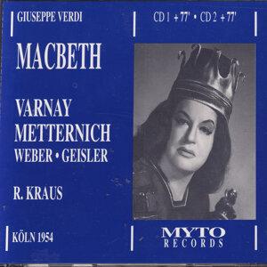 Astrid Varnay, Josef Metternich, Ludwig Weber, Walter Geisler, Trude Roesler, Hasso Eschert, Chor und Orchester des WDR, Richard Kraus 歌手頭像
