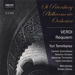 St Petersburg Philharmonic Orchestra, Carmen Giannattasio, Veronica Simeoni, Alxander Timchenko, Carlo Colombara & Yuri Temirkanov 歌手頭像