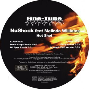 Nushock, Melinda Williams 歌手頭像