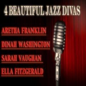 Aretha Franklin, Dinah Washington, Sarah Vaughan, Ella Fitzgerald 歌手頭像