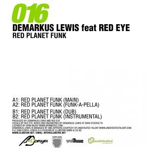 Demarkus Lewis ft Red Eye 歌手頭像