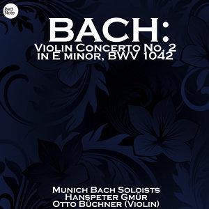 Munich Bach Soloists, Hanspeter Gmür 歌手頭像