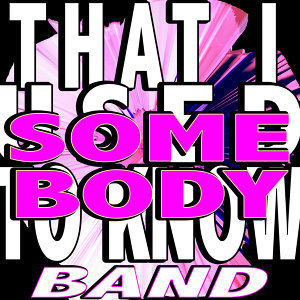 Somebody Know Band 歌手頭像