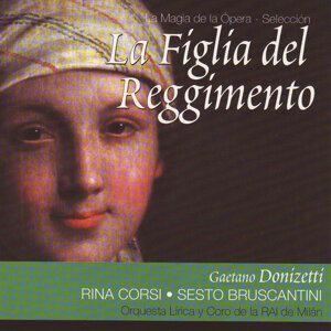 Rina Corsi, Sesto Bruscantini, Coro y Orquesta Lírica de la RAI de Milán 歌手頭像