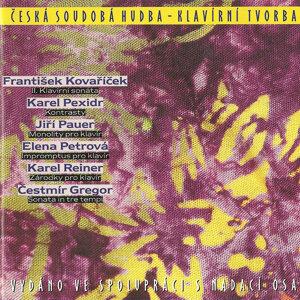 František Kovaříček, Karel Pexidr, Jiří Pauer, Elena Petrová, Karel Reiner, Čestmír Gregor 歌手頭像