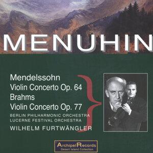 Yehudi Menuhin, Berlin Philharmonic Orchestra, Lucerne Festival Orchestra, Wilhelm Furtwängler 歌手頭像