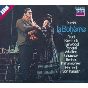 Elizabeth Harwood,Luciano Pavarotti,Mirella Freni,Herbert von Karajan,Nicolai Ghiaurov,Berliner Philharmoniker 歌手頭像