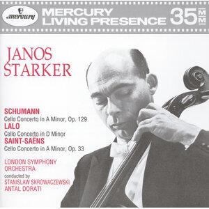 János Starker,Antal Doráti,Stanislaw Skrowaczewski,London Symphony Orchestra