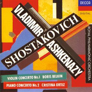 Cristina Ortiz,Royal Philharmonic Orchestra,Boris Belkin,Vladimir Ashkenazy 歌手頭像