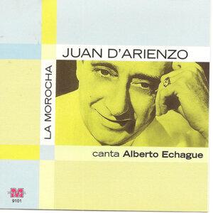 Juan D Arienzo canta Alberto Echague 歌手頭像