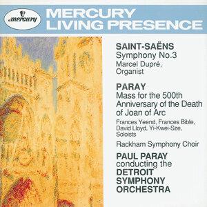 Paul Paray,Detroit Symphony Orchestra,Marcel Dupré