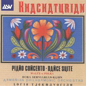 Dora Serviarian-Kuhn,Armenian Philharmonic Orchestra,Loris Tjeknavorian