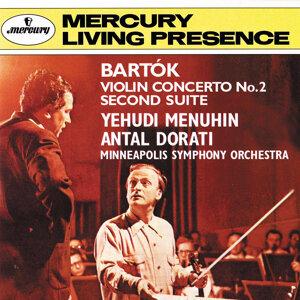 Yehudi Menuhin,Minneapolis Symphony Orchestra,Antal Doráti 歌手頭像