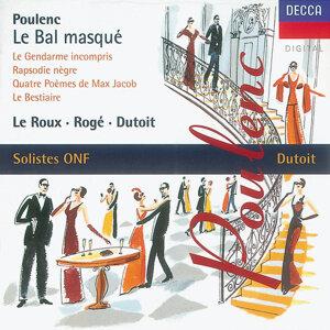 Pascal Rogé,Soloistes De L'Orchestre National De France,Dominique Visse,Lambert Wilson,François Le Roux,Charles Dutoit 歌手頭像