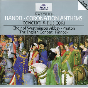 The Choir Of Westminster Abbey,The English Concert,Simon Preston,Trevor Pinnock 歌手頭像