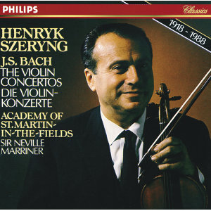 Maurice Hasson,Henryk Szeryng,Academy of St. Martin in the Fields,Sir Neville Marriner