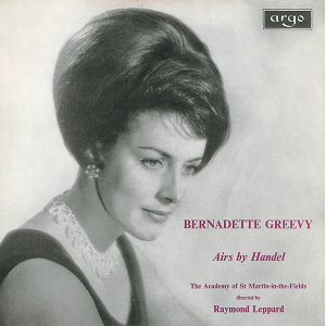 Raymond Leppard,Academy of St. Martin in the Fields,Bernadette Greevy 歌手頭像