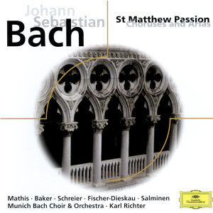 Dietrich Fischer-Dieskau,Die Regensburger Domspatzen,Matti Salminen,Münchener Bach-Chor,Karl Richter,Dame Janet Baker,Edith Mathis,Peter Schreier,Münchener Bach-Orchester 歌手頭像