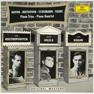 Mstislav Rostropovich,Rudolf Barshai,Leonid Kogan,Emil Gilels 歌手頭像
