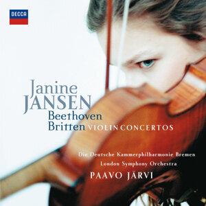 Janine Jansen,Paavo Järvi,London Symphony Orchestra,Die Deutsche Kammerphilharmonie Bremen