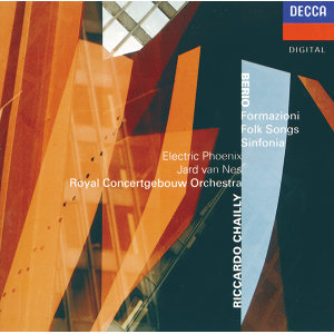 Electric Phoenix,Jard van Nes,Riccardo Chailly,Royal Concertgebouw Orchestra 歌手頭像
