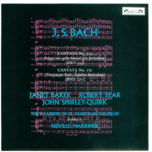 Sir Neville Marriner,Dame Janet Baker,Academy of St. Martin in the Fields,John Shirley-Quirk 歌手頭像