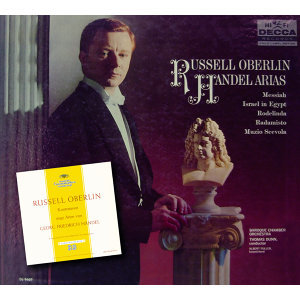 The Baroque Chamber Orchestra,Thomas Dunn,Russell Oberlin 歌手頭像