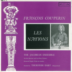 Thurston Dart,Sir Neville Marriner,Carl Pini,Jacobean Ensemble 歌手頭像