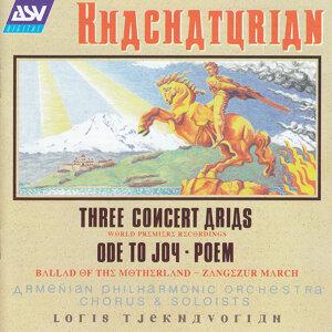 Loris Tjeknavorian,Mourad Amirkhanian,Armenian Philharmonic Chorus,Varduhi Khachatrian,Armenian Philharmonic Orchestra,Hasmik Hatsagortsian 歌手頭像
