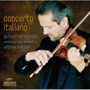 Giuliano Carmignola,Andrea Marcon,Venice Baroque Orchestra