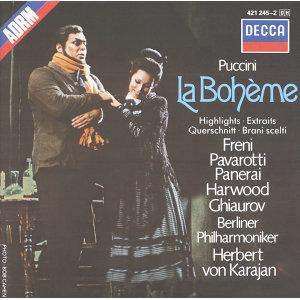 Herbert von Karajan,Nicolai Ghiaurov,Elizabeth Harwood,Berliner Philharmoniker,Chor der Deutschen Oper Berlin,Mirella Freni,Luciano Pavarotti 歌手頭像