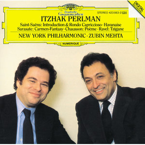 Itzhak Perlman,New York Philharmonic Orchestra,Zubin Mehta 歌手頭像