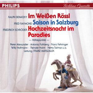 Renate Holm,Bernhard Wilfert,Großes Operettenorchester,Antonia Fahberg,Willi Hofmann,Franz Fehringer,Chor,Herta Talmar,Peter Alexander,Franz Marszalek 歌手頭像
