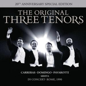 Luciano Pavarotti,José Carreras,Plácido Domingo 歌手頭像