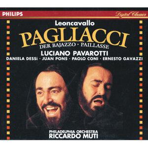 Philadelphia Orchestra,Riccardo Muti,Luciano Pavarotti,Daniela Dessi,Ernesto Gavazzi,Paolo Coni,Juan Pons 歌手頭像