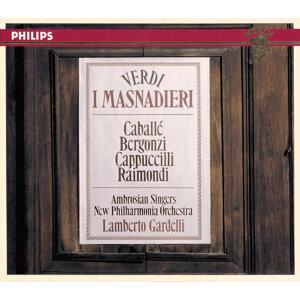 New Philharmonia Orchestra,Ruggero Raimondi,The Ambrosian Singers,Montserrat Caballé,Carlo Bergonzi,Lamberto Gardelli,Piero Cappuccilli 歌手頭像