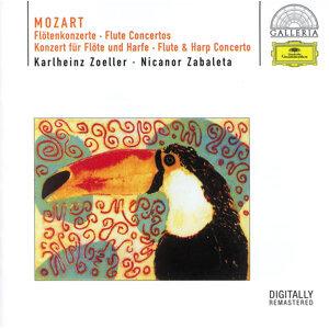 Karlheinz Zoeller,Bernhard Klee,Ernst Märzendorfer,English Chamber Orchestra,Berliner Philharmoniker,Nicanor Zabaleta 歌手頭像