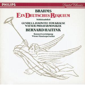 Bernard Haitink,Wiener Philharmoniker,Wiener Staatsopernchor,Gundula Janowitz,Tom Krause 歌手頭像