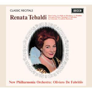 New Philharmonia Orchestra,Oliviero de Fabritiis,Renata Tebaldi 歌手頭像