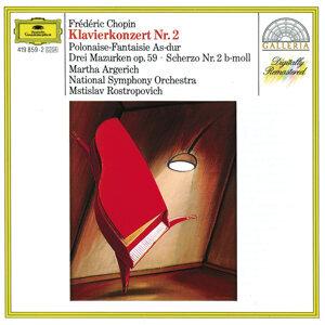 Mstislav Rostropovich,Martha Argerich,National Symphony Orchestra Washington 歌手頭像