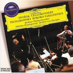Berliner Philharmoniker,Herbert von Karajan,Mstislav Rostropovich