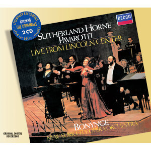 New York City Opera Orchestra,Richard Bonynge,Dame Joan Sutherland,Luciano Pavarotti,Marilyn Horne 歌手頭像