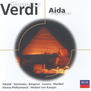 Herbert von Karajan,Fernando Corena,Wiener Philharmoniker,Cornell MacNeil,Carlo Bergonzi,Renata Tebaldi,Giulietta Simionato 歌手頭像