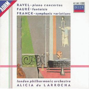 Alicia de Larrocha,London Philharmonic Orchestra,Lawrence Foster,Rafael Frühbeck de Burgos 歌手頭像