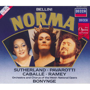 Samuel Ramey,Luciano Pavarotti,Chorus of the Welsh National Opera,Montserrat Caballé,Richard Bonynge,Orchestra of the Welsh National Opera,Dame Joan Sutherland 歌手頭像
