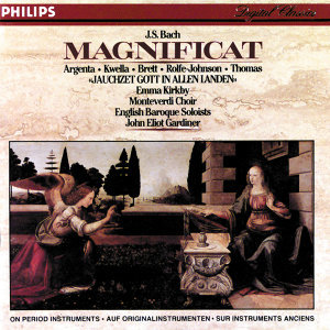 Nancy Argenta,English Baroque Soloists,David Thomas,The Monteverdi Choir,Patrizia Kwella,Charles Brett,John Eliot Gardiner,Emma Kirkby,Anthony Rolfe Johnson 歌手頭像